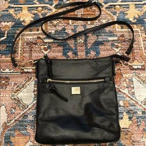 Kooba Black Leather Hand/Shoulder Bag Purse Small
